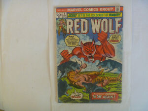 RED WOLF # 09 by Marvel Comics