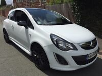 2014 Vauxhall corsa limited edition 1.2 low miles px