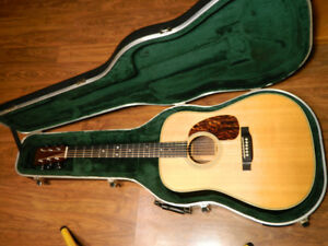 2000 Martin HD-28 With MiSi Cutlass Pickup System & Case