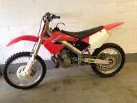 Honda cr 250 2001 2 stroke motocross