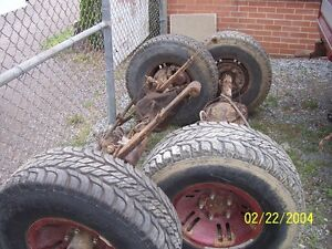 front and rear axles from '89 ram charger Peterborough Peterborough Area image 2