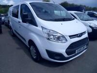 Ford Transit Custom 290, L2, H1, Trend, 130ps, Double cab Van