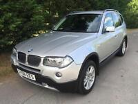 2008 BMW X3 2.0d SE TURBO DIESEL 6 SPEED MANUAL 4X4
