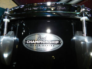 NEW Pearl Championship Maple Series Marching Drums Less Than 1/2