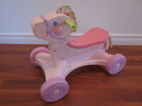 Trotteur Cheval musical Fisher Price