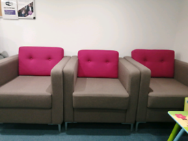 Large armchairs