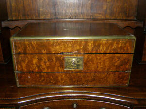 Collection of Antique Boxes - Tea Caddies Lapdesks Knife Boxes London Ontario image 2