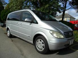 MERCEDES BENZ VIANO 3.2 2004 7 SEATER 47,000 MILES COMPLETE WITH M.O.T HPI CLEAR