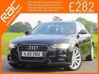 2012 Audi A4 2.0 TDI Turbo Diesel 143 PS Technik 6 Speed Sat Nav Bluetooth Full