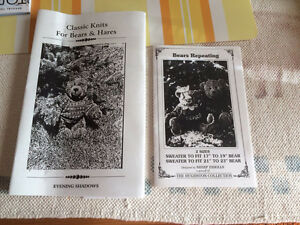 Knitted sweater patterns for Stuffed Bears Sarnia Sarnia Area image 1
