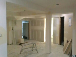 contruction taper and stucco removel