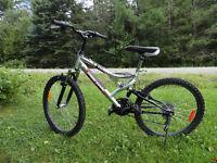 """Vélo de montagne roues de 24"""", 21 vitesses"""
