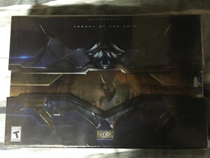 Starcraft 2 Legacy of the Void Collector's edition SEALED Windsor Region Ontario image 1