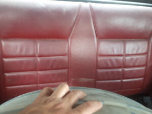 Top part of rear seat for 83 mustang convertible