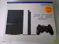 Sony Slim PS2 with 21 games