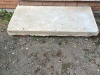Concrete slab *FREE* approx 4x2 size