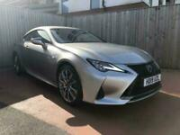 2019 Lexus RC 300h 2.5 F-Sport 2dr CVT Coupe Petrol/Electric Automatic