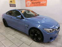 2015 BMW M4 3.0 425bhp M DCT, HEATED SEATS, XENONS, *BUY FOR ONLY £665 A MONTH*