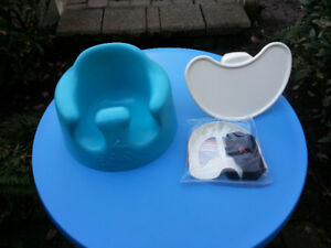 Bumbo Baby Floor Seat With Safety Strap and Tray