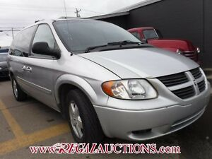 2007 DODGE GRAND CARAVAN SXT WAGON SXT