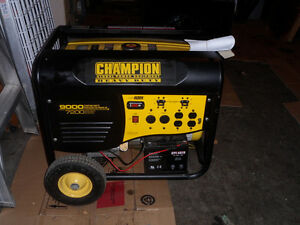 HEAVY DUTY CHAMPION GENERATOR (7200 TO  9000) Cornwall Ontario image 5