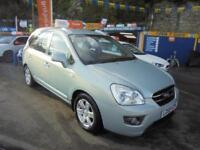 2009 59 KIA CARENS 2.0 CRDI GS 7 SEATER IN GREEN # FULL SERVICE HISTORY #