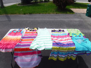 Lot of girls clothing, size 10 / 12 or L inc. 6 dresses!