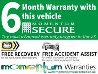 FREE 6 Months Platinum Warranty, 12 Months AA Breakdown Cover + 5 Day Insurance