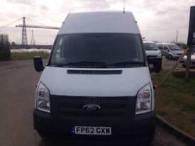2012 62 Ford Transit Jumbo 2.2TDCi 125PS 350L RWD JUMBO PANEL VAN
