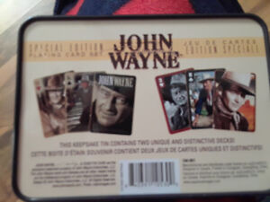 JOHN WAYNE COLLECTION CARDS