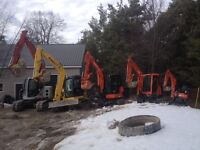Excavation, Bobcats, Demo, Trucking, Removal/Disposal