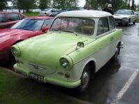Trabant 500 from 1962 completely renovated