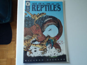 AGE OF REPTILES BY DARK HORSE COMICS 1994.