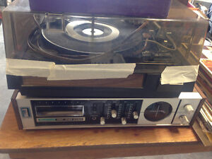 Record Player in Working Condition and Records