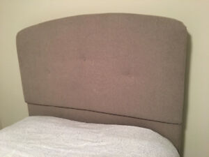 Double size fabric Headboard