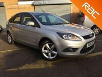 2010 10 FORD FOCUS 1.6 ZETEC 5D 6 SERVICES, ONLY 2 FORMER KEEPERS