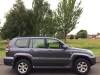 TOYOTA LAND CRUISER 2006 3.0 D-4D DIESEL AUTO LC4 FULL TOYOTA SERVICE HISTORY