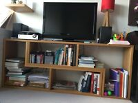 2 piece wood TV unit needs to go asap