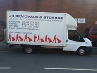 Birmingham man and a van removal service.