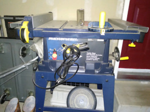 Mastercraft Table Saw - Barely Used