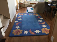 Area rug for a child's room