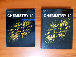 Nelson Chemistry 12 Textbook & Study Guide Excellent Condition