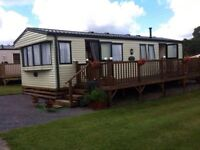 Caravan to rent / hire SEPTEMBER ONWARDS ONLY in Begelly Nr Tenby / Saundersfoot 6 berth