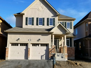 Brand new detached home in Bowmanville.