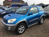 2003 TOYOTA RAV 4 2.0 D 4D SOLD PLEASE CHECK OUR OTHER LISTINGS
