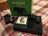 Xbox One 500GB in Mint Condition With Unopened Copy of Rare Replay