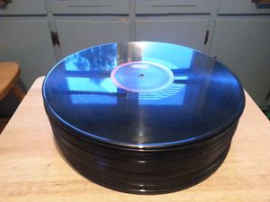 Lot Of 50 Vinyl Records For Vinyl Art Crafts Partys  10.00