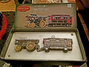 CORGI FOWLER SHOWMANS STEAM ENGINE LE MONT BLANC & CARAVAN