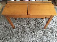 Vintage school desk shabby chic style project