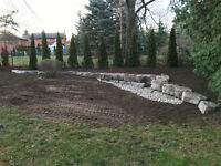 Excavation, Waterproofing, & Landscaping